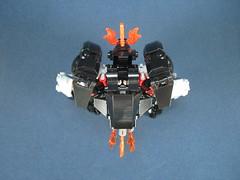top view 1 (Messymaru) Tags: original robot lego mecha mech melee moc