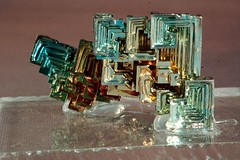 Bismuth 2 (ToonFox42) Tags: rock mineral ore gem