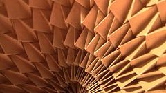Still from the movie I posted may 18 (Danielle Verbeeten) Tags: art paper origami danielle papier paperfolding papiroflexia corrugation papierkunst papiervouwen waterbombbases ingetheunissen