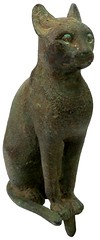 Sadigh Gallery's Ancient Egyptian Bronze Cat Statue (SadighGallery) Tags: statue cat bronzestatue ra ancientegypt egyptiangods sadighgallery orangecategory