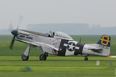 """P-51D """"Jumpin Jacques"""" 44-72035 at the Oostwold Airshow 2013 (Jeroen.B) Tags: red 11 collection mustang groningen the northamerican oostwold p51d20na 4472035 332nd tuskegee airman tailsred tailsp51jumpinjacqueshanger 11hanger"""