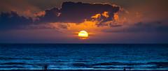 Sunset over the sea (Alexandre LAVIGNE) Tags: sunset sea wallpaper mer france landscape photography soleil photo pentax nuages paysage fr plage coucherdesoleil nightfall berck netvibes côtedopale fonddecran k20d platinumheartaward louisengival pasdecalaisnordpasdecalais format169e format235