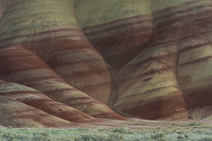 The Painted Hills (NW Vagabond) Tags: monument oregon spring view central telephoto clay paintedhills unit 2013 johndayfossil