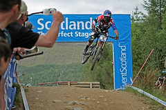 Brook MACDONALD (6) - TREK WORLD RACING, Downhill Final, Fort William MTB World Cup 2013 (Anthony Round) Tags: scotland mountainbike downhill mtb brook worldcup macdonald fortwilliam uci