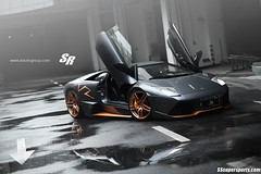 Lamborghini Murcilago LP650-4 on PUR Wheels (SSsupersports) Tags: auto car grigio wheels group tuning limited edition lamborghini sr arancio supercar pur roadster murcielago telesto lp650