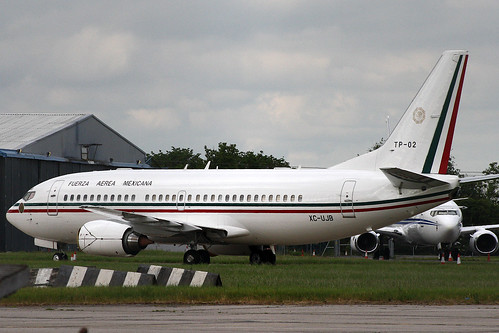 Boeing 737-33A Mexican Air Force TP-02/XC-UJB