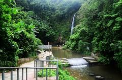 Madhobkundu Waterfall (Ami VONDo) Tags: sky fall water rain rock leaf drops nikon insects journey jungle mehrab kundo saifuzzaman d5100 madhob