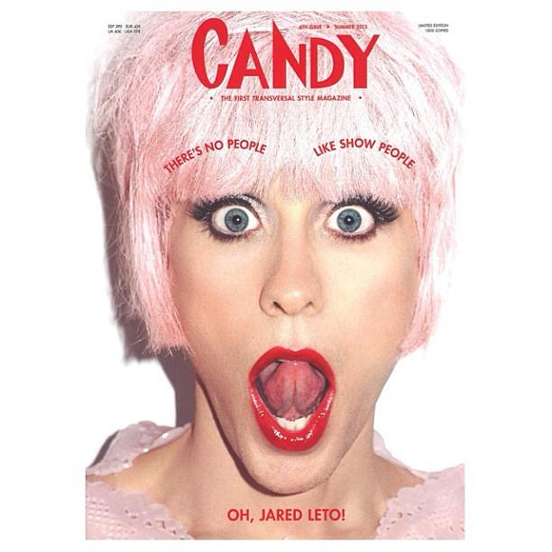 OH, JARED LETO! @jaredleto @terryrichardsonstudio CandyMagazine #6 #Summer2013 #JaredLeto #TerryRichardson #fashion #fashionphotography #photography #drag #cover #celebritystyle #celebrity #ia #imageamplified #summer #2013 #jaredletoimdrag #malebeauty #fe