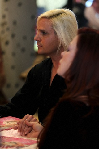 Daniel DiCriscio at Seance of Former Client Anna Nicole Smith