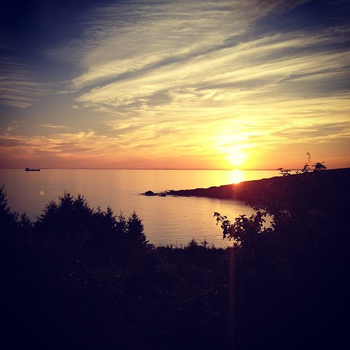 Finally, a Monhegan sunset!