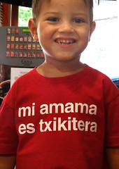 Fiestas de la Karmela VK (Fotos de Camisetas de SANTI OCHOA) Tags: paisvasco frase euskera