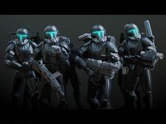 Omega Squad (_silencer_) Tags: republiccommando omegasquad clonecommando deltasquad