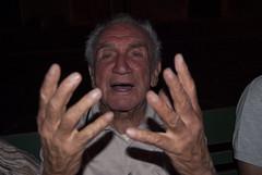 La palla di cristallo (Raissa Fitzgerald Photographer) Tags: notte nonno buio vecchio senilit