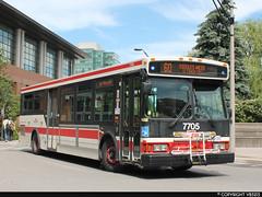 Toronto Transit Commission #7705 (vb5215's Transportation Gallery) Tags: toronto ttc 20042005 transit orion commission vii