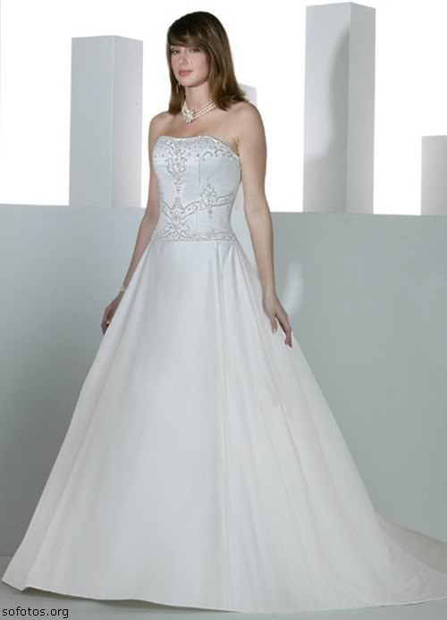 Vestido para noiva evasê