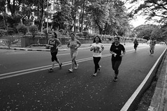 DSC00828 (cess044) Tags: city bw white black up campus university afternoon metro weekend sony philippines sunday wide sigma manila diliman alpha runner amateur quezon beginner quezoncity nex metromanila 2013