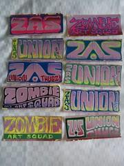 (andres musta) Tags: andres musta sticker stickers stickerart art zas zombie squad zombieartsquad adhesive andresmusta slaps