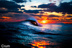 absolutely freezing _ re-edit (Benny Crum) Tags: pictures ocean sunset beach water photography photo nikon buxton surf waves photographer image photo