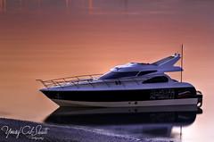 Yacht_Sunset (TorresKw) Tags: sunset sea sky sunrise canon kuwait kuwaitcity kw khairan kwt   kuw