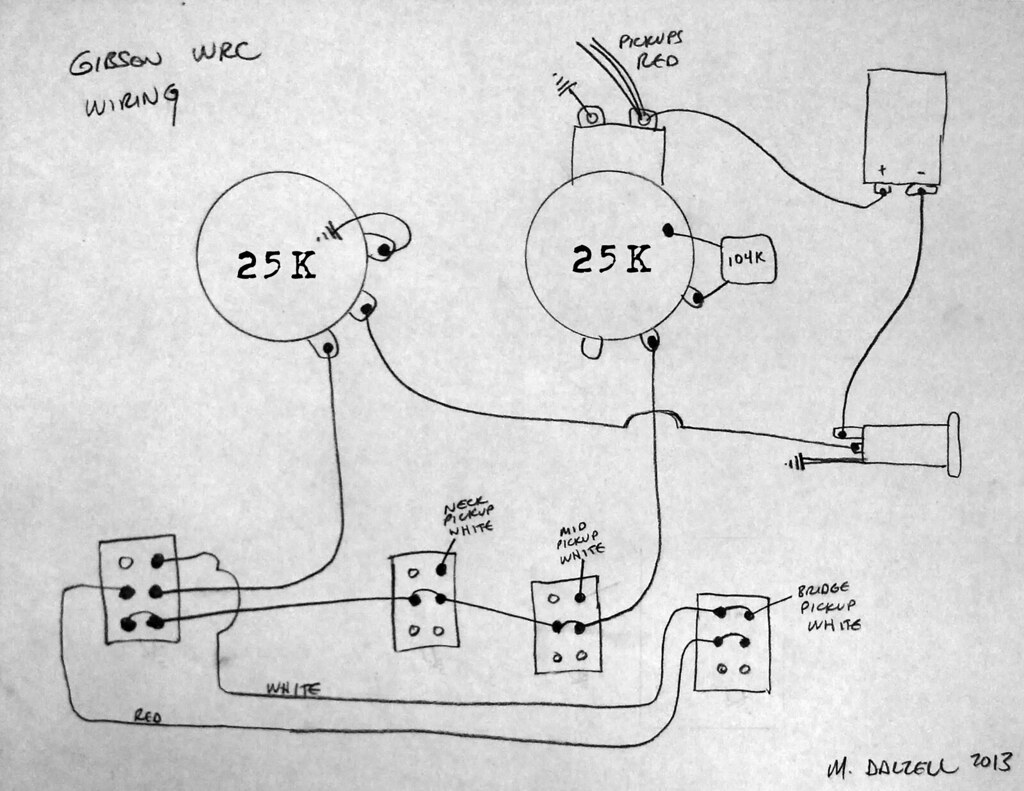 Gibson Marauder Wiring Diagram Library Amp Schematic Electric Guitar Diagrams Ga 30 Wrc Mark Dalzell Tags 1988