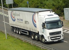 SF58 JXD (Cammies Transport Photography) Tags: truck scotland volvo edinburgh capital lorry limited fh newbridge flyover cooling m9 msl sf58jxd