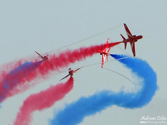 Royal Air Force --- Red Arrows --- British Aerospace Hawk T1A (Drinu C) Tags: plane aircraft military sony airshow dsc redarrows raf mla royalairforce lmml maltainternationalairshow hx100v adrianciliaphotography