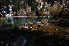 Pretty Pond (Let Ideas Compete) Tags: lake water pond october colorado glenwood springs hanging emerald guysweekend hikerhabitat