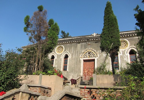 Qingyan old Catholic church