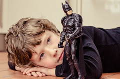 It's Not Easy To Be Me! (BGDL) Tags: lewis batman superheroes odc niftyfifty nikond7000 bgdl afsnikkor50mm118g supermanitsnoteasy lightroomcc