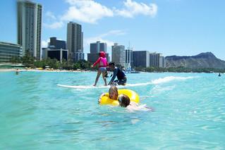 surf lesson
