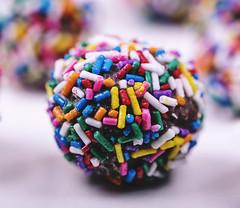 doughnut sprinkles (shuttertag) Tags: food macro dessert yummy sweet sprinkles doughnut treat