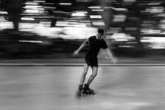 Rollerblading III (M Hooper) Tags: park slow sydney hyde shutter rollerblading rollerblades
