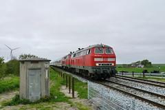 P1960459 (Lumixfan68) Tags: ic eisenbahn db bahn intercity deutsche 218 zge loks baureihe dieselloks