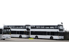 Two of Five (Coco the Jerzee Busman) Tags: uk islands coach ct jersey plus channel scania omnicity libertybus