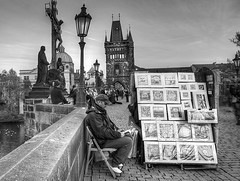 "On the Charles Bridge • <a style=""font-size:0.8em;"" href=""http://www.flickr.com/photos/45090765@N05/17542311956/"" target=""_blank"">View on Flickr</a>"