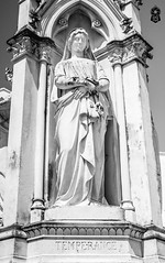 Lady Temperance (The.Creativity.Engine) Tags: pictures travel blackandwhite sculpture white inspiration black art monochrome composition canon court photography photo justice blog memorial flickr photographer photos pics wordpress chinese pic monotone monochromatic malaysia penang wisdom moment dslr capture clan bnw facebook fortitude temperance clans travel2 photography2 550d jameslogan