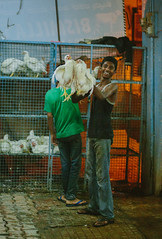 Butcher Shop (dima barsky) Tags: travel food india chicken canon bangalore desi streetfood butchershop 2015 bengaluru ef85mmf18usm canoneos5dmarkiii