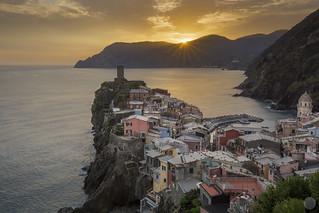 Sunset on Vernazza [IT]