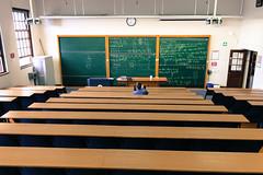 Classroom M209 (barbourians) Tags: university classroom oldschool learning teaching chalkboard blackboard uct universityofcapetown