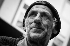 the poet (Graeme Perry) Tags: street newzealand portrait people bw david wellington poet performer merritt davidmerritt
