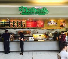 Nathans Famous (Joseph Cerulli) Tags: people mall fastfood foodcourt nathansfamous arthurtreachers freeholdracewaymall josephcerulli