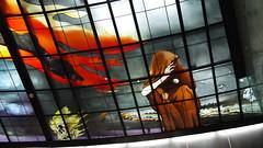 P1040018 (Nog-Z) Tags: 台湾 高雄 カオシュン 地下鉄 駅 taiwan kaohsiung subwaystation 美麗島駅 ステンドグラス formosaboulevardstation stainedglass