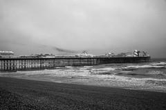 DSC00100 (iFot) Tags: mist ir infrared seaside seafront beach palacepier brightonpier pier brighton