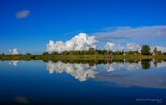 Erinnerungen, die bleiben... (Explore # 65) (rafischatz... www.rafischatz-photography.de) Tags: germany balticsea bodden barthe landscape water reflection sky clouds pentax k3