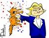 1016 hows that grab you cartoon (DSL art and photos) Tags: editorialcartoon donlee donaldtrump clinton election president 2016 hillaryclinton grab debate