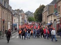 MANIF DE SOUTIEN (marsupilami92) Tags: frankreich france hautsdefrance somme 80 amiens goodyear syndicat cgt solidaires soutien manifestation justice appel drapeau