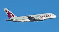 A7-APC QATAR A380 (john smitherman-http://canaviaaviationphotography.) Tags: a7apc qatar qatarairways aviation aircraft airliner airplane airbus aeroplane airport plane planespotting fly flight flug flughafen takeoff lhr london londonheathrow egll canon 1dmk4 100400l jet a380 airbusa380 feltham doha