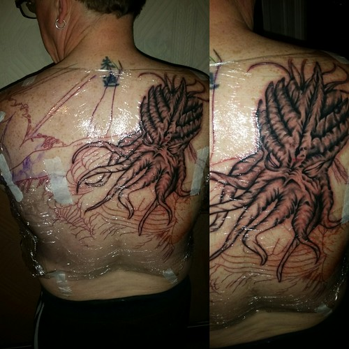 Flickriver: Most interesting photos from Cthulhu Tattoos pool