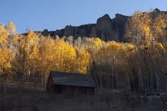 cozy cabin (Jeff Mitton) Tags: fall autumn aspen mountains sanjuan colorado earthnaturelife wondersofnature