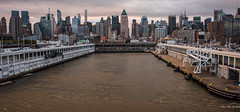 2016 - CPH-NYC Cruise - NYC - Pier 90 Hell's Kitchen (Ted's photos - For Me and You) Tags: 2016 cropped nikon nikond750 nikonfx nyc newyorkcity tedmcgrath tedsphotos midtownmanhattan pier90nyc port cruiseshipterminal manhattancruiseterminal manhattancruiseterminalpier90 newyorkcruiseterminal bollards buildings